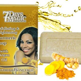 Buy 7 Days Magic Skin Lightening & Brightening Turmeric Soap| Benefits