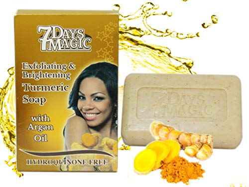 Buy 7 Days Magic Turmeric Soap 7oz /200gr