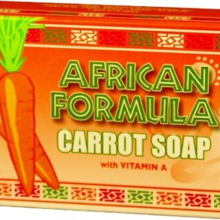 African Formula Carrot Soap 3 oz. (Pack of 2)
