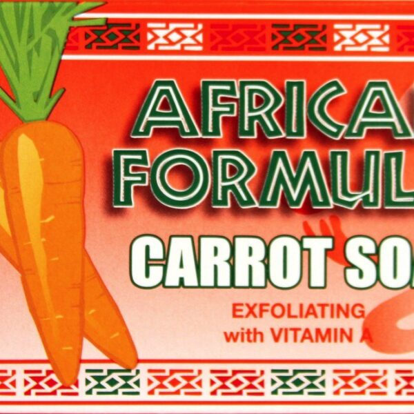 Buy African Formula Carrot Soap – Exfoliating 7 oz. (Pack of 6)