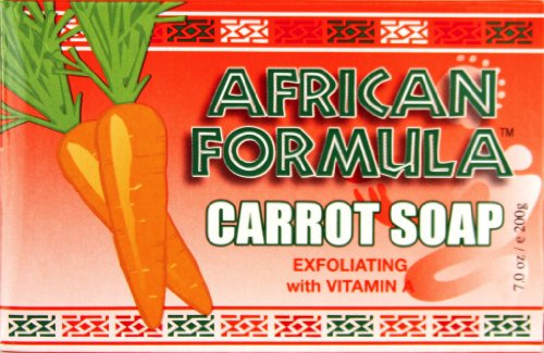African Formula Carrot Soap with Vitamin a 7 Oz