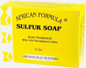 African Formula Soap - Sulfur 3.5 oz.