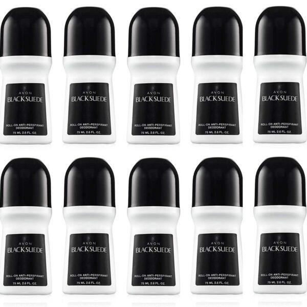 Avon Black Suede Deodorant 2.6 oz lot of 10