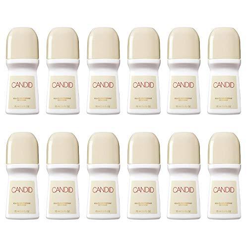 Buy Avon Candid Roll-on Antiperspirant Deodorant Bonus Size 2.6 oz (12-Pack)