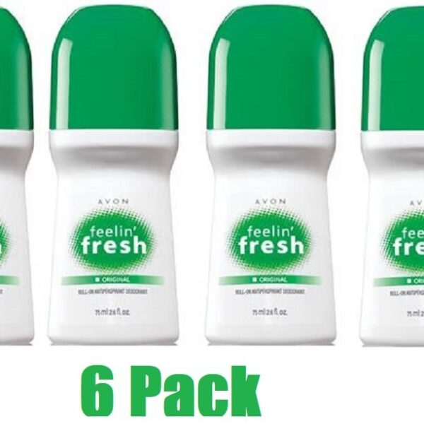 Buy Avon-Feelin-Fresh-Original-Roll-On-Antipirspirant-Deodorant-26-floz_-Lot-6-pcs-