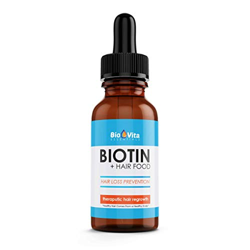 BIOVITA ESSENTIALS BIOTIN+HAIR FOOD -PROMOTES HAIR GROWTH-REENERGIZING SCALP