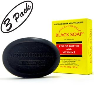 Buy African Formula Natural Moisturizing Black Soap 3 Pack | | OBS