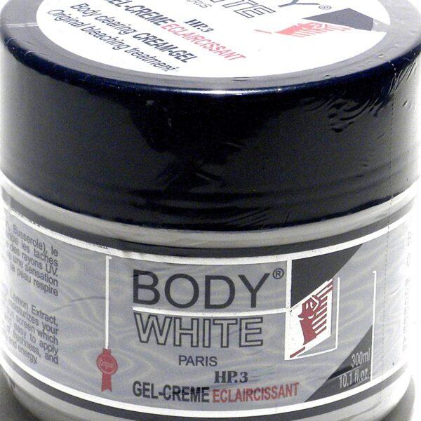 Body White Paris Gel Cream Jar 300ml