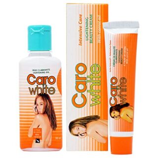 Caro White Combo 5 (Oil 1.7oz + Cream(Tube) 1oz)