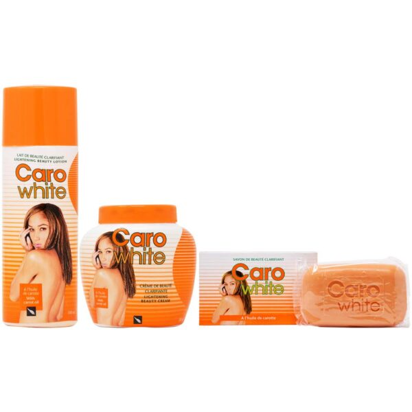 Caro White Set-3 (Lotion + Cream 16.9oz + Soap 6.3oz)