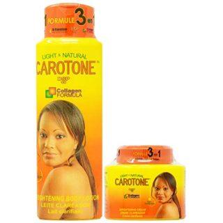 CaroTone Combo 1 (Lotion 18.6oz + Cream 11.1oz)