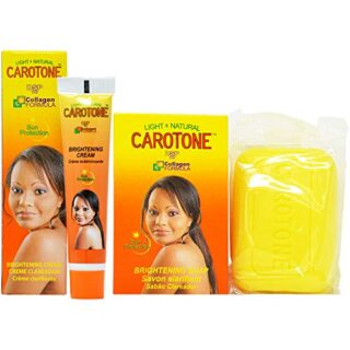 Buy CaroTone Combo 4 (Soap 6.7oz + Cream(Tube) 1oz)