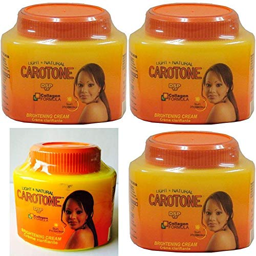 Carotone DSP10 Brightening Cream 330ml (Pack of 4)