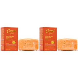 Buy Carrot Glow Exfoliating Purifying Soap With Carrot Oil 7oz (Pack of 2)