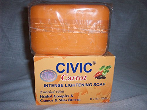 Civic Carrot Intense Lightening Soap
