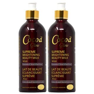 Buy Cocoa Glow Supreme Brightening Beauty Milk (Pack of 2) || OBS