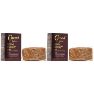 Buy Cocoa Glow Exfoliating Purifying Lightening Soap (Pack of 2) || OBS