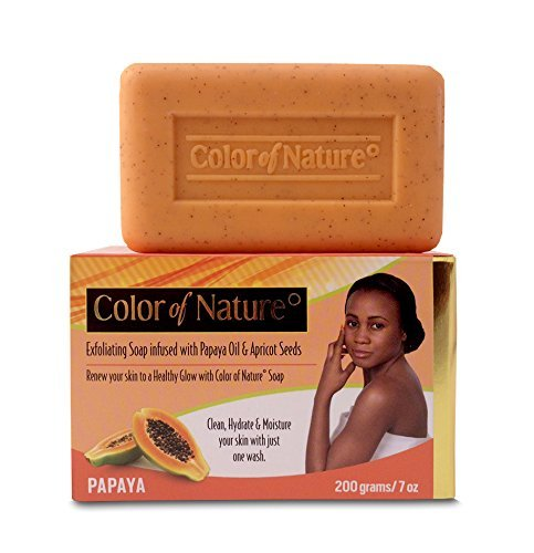 Buy Color of Nature Papaya Soap