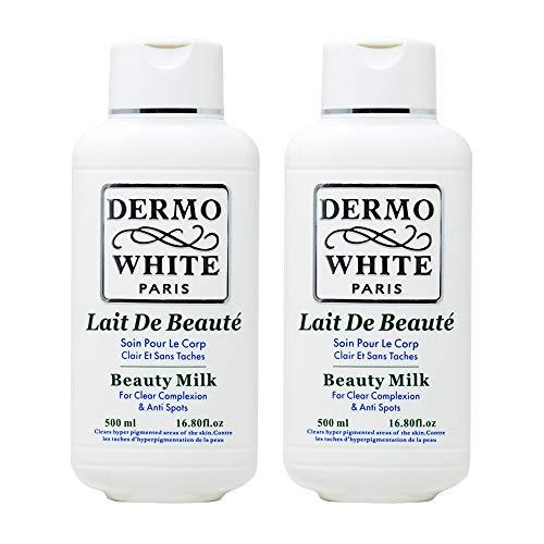 Dermo-White-Paris-Beauty-Milk-Lotion-500ml1680oz-Pack-of-2