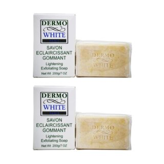 Buy Dermo White Skin Lightening Exfoliating Soap (Pack of 2) || OBS