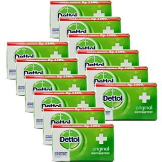 Buy Dettol Anti-Bacterial Hand and Body Bar Soap, Original, 110 Gr / 3.88 Oz (Pack of 12)
