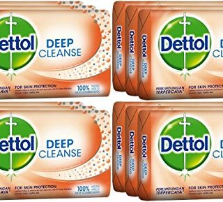Buy Dettol Deep Cleanse Soap Bar (Pack of 12) | Benefits | OBS