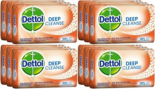 Buy Dettol-Deep-Cleanse-Bar-Soap-105-Grams-37-Ounce-Pack-of-12