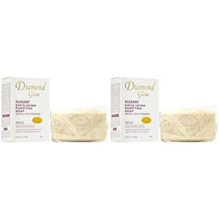 Buy Diamond Glow Elegant Exfoliating Purifying Soap (Pack of 2) || OBS
