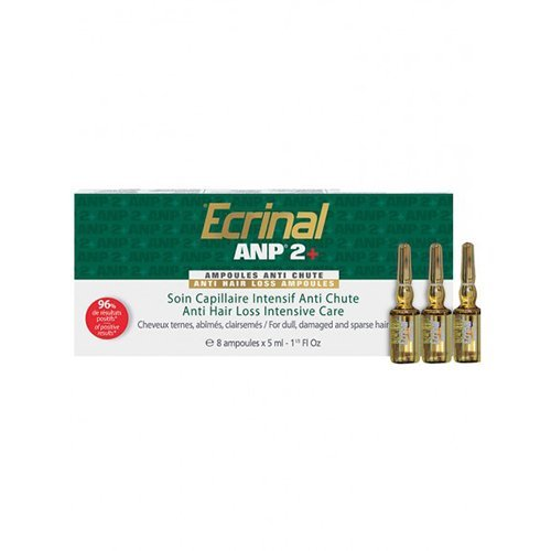 Ecrinal ANP2+ Anti-Hair Loss Ampoules, 8 Count