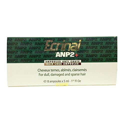 Buy Ecrinal Anti Hairloss Ampoules ANP2+, Box of 8 (New Formula)