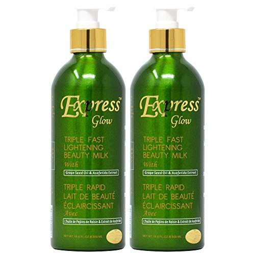 express glow beauty milk lotion