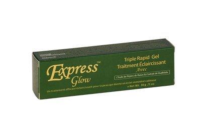 Express Glow Triple Fast Lightening Treatment Gel 1oz