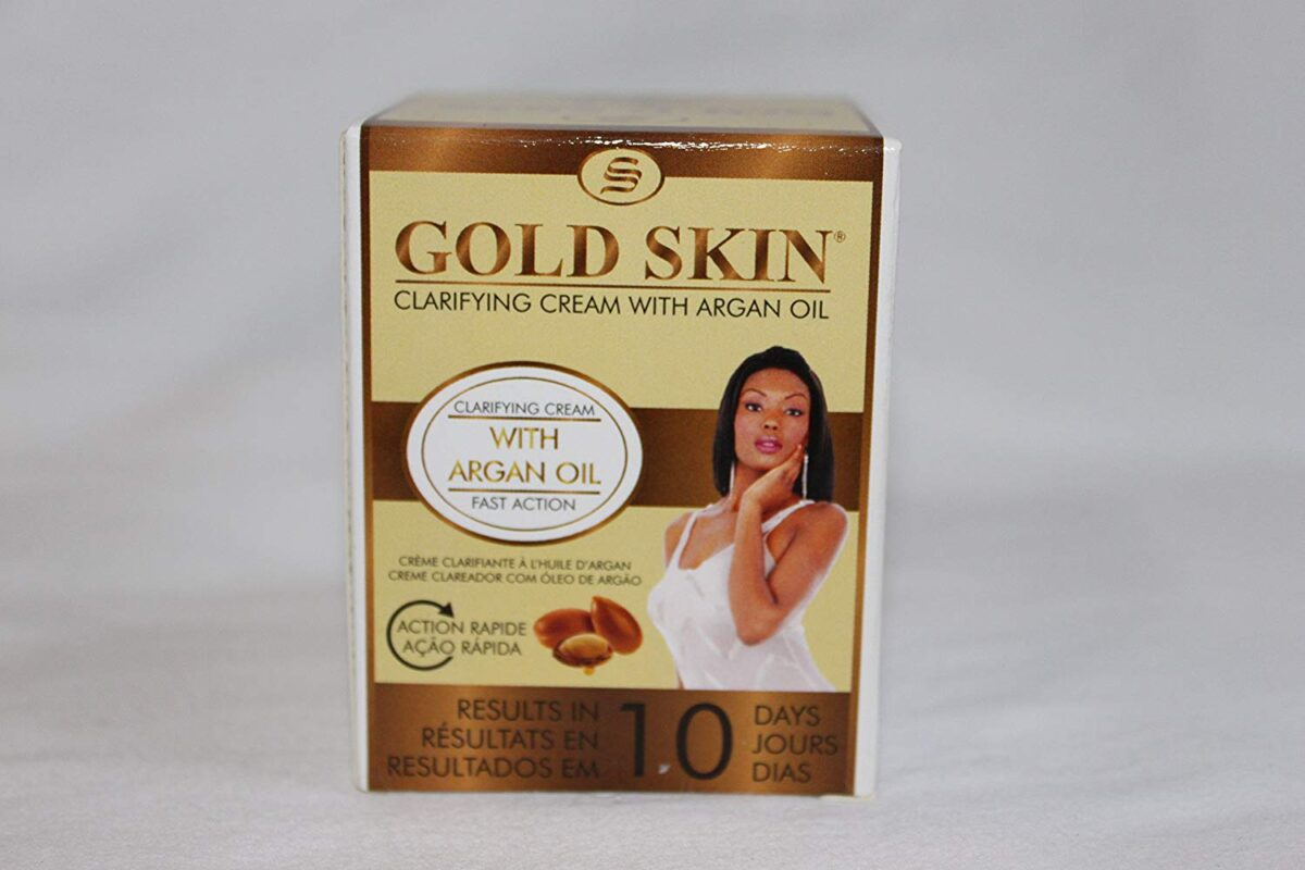 Gold Skin Clarifying Body Cream With Argan Oil