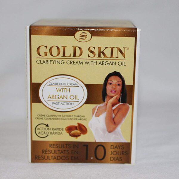 Gold Skin Clarifying Body Cream With Argan Oil