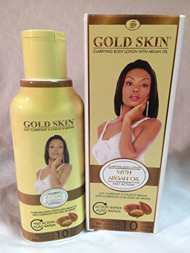 Gold Skin Clarifying Body Lotion With Argan Oil