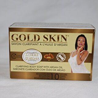Gold Skin Clarifying Body Soap With Argan Oil