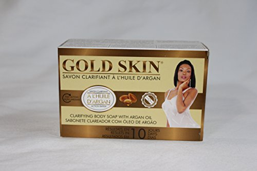 Gold Skin Clarifying Body Soap With Argan Oil