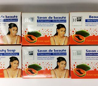 H20 Natural Whitening Papaya Soap