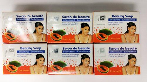 H20 Natural Whitening Papaya Soap