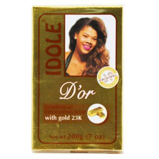 Buy Idole Gold Lightening Exfoliating Soap | Benefits | Best Price | OBS