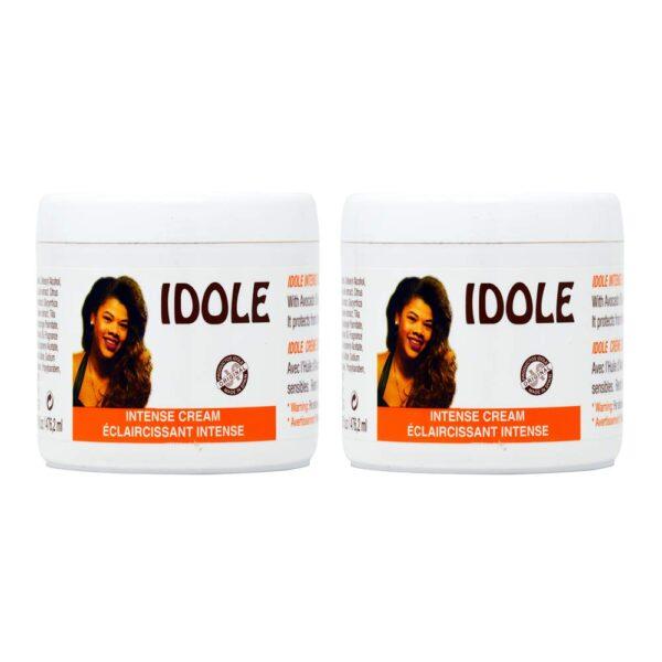 idole intense lightening cream jar