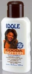 Idole Lotion Cocoa Butter 10.5oz / 320ml 6pcs