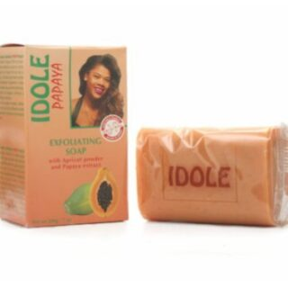 Idole Papaya Exfoliating Lightening Whitening Soap