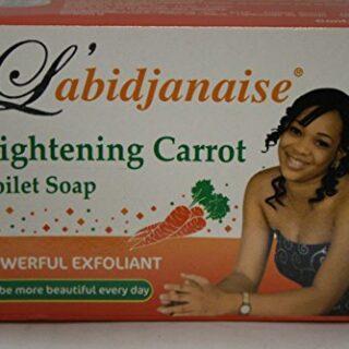 L'abidjanaise Lightening Carrot Toilet Soap