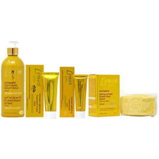 Buy Lemon Glow Set-1 (Lotion 16.8oz + Soap 7oz + Cream 1.7oz + Gel 1oz)