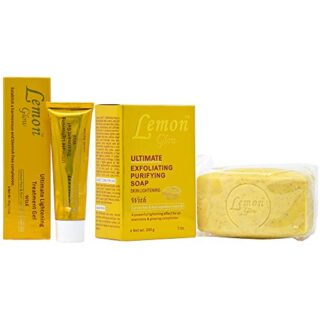 Lemon Glow Soap Combo-4 (Soap 7oz + Gel 1oz)