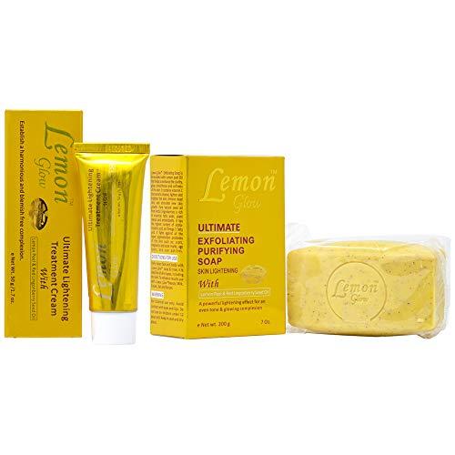 Buy Lemon Glow Soap Combo-5 (Soap 7oz + Cream 1.7oz)
