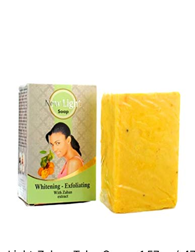 New Light Whitening And Exfoliating Soap 350 Grams