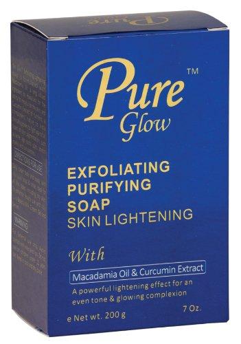 Pure Glow Exfoliating Purifying Soap Skin Lightening 7 oz