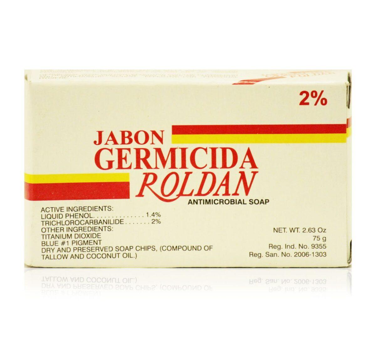 Buy Roldan Germicida 2%triclocarban Antimicrobial Soap 7oz